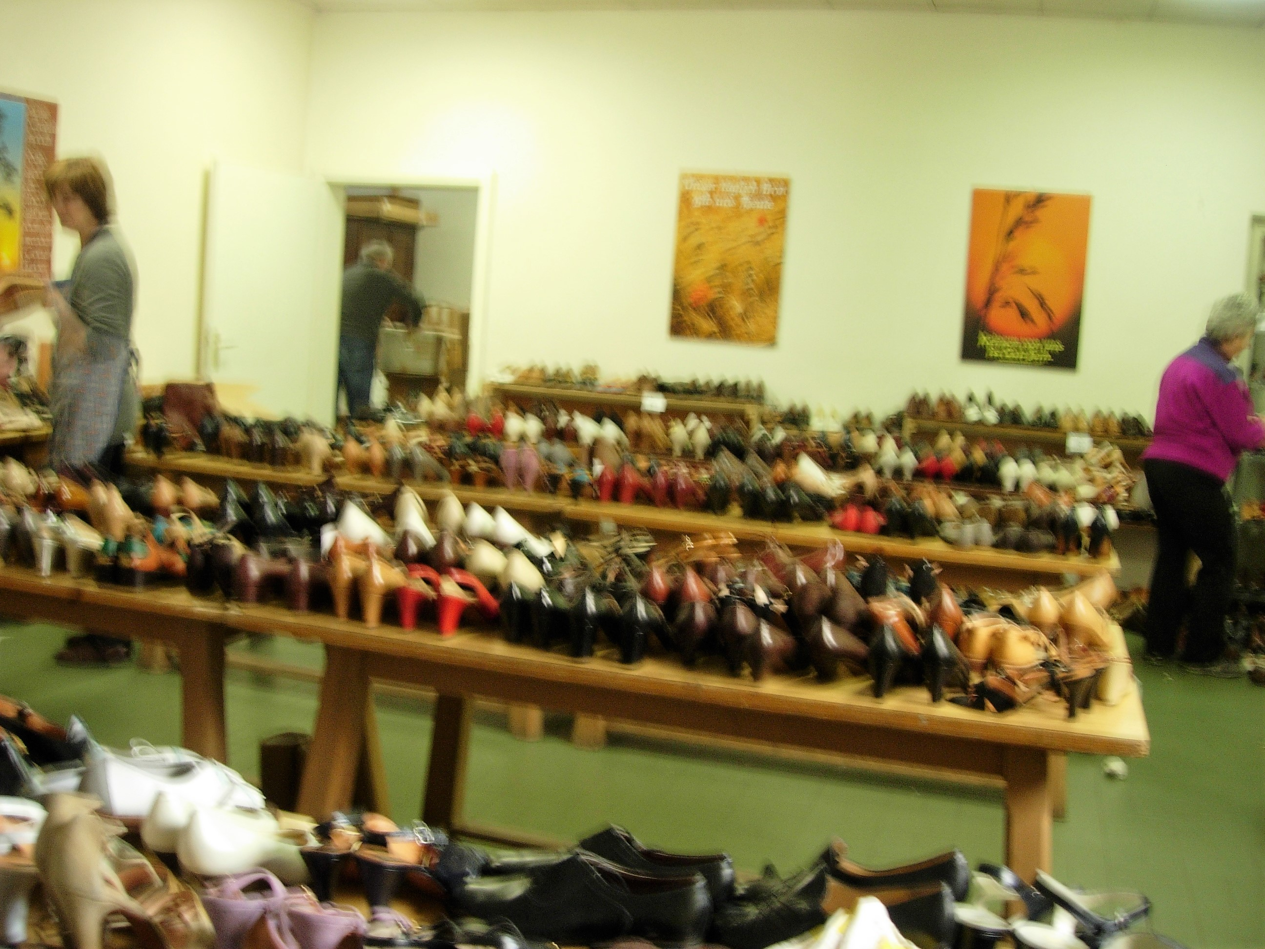 2014 mercatino scarpe