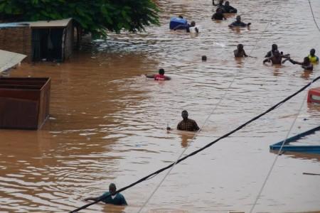 Inondazioni in Burkina Faso