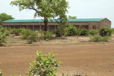 Costruzione della scuola secondaria di Tiodié