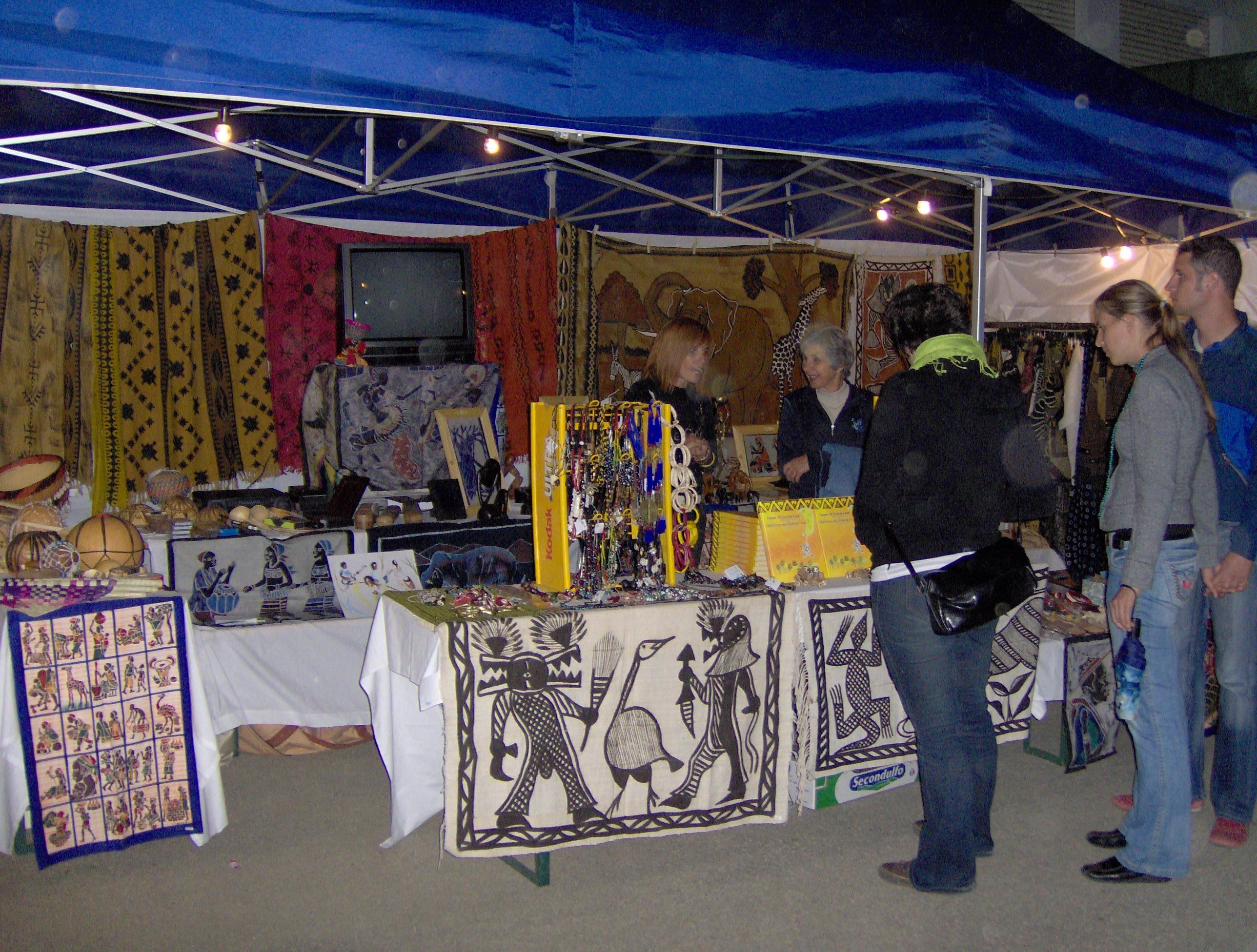 2006 Mostra dell\'artigianato Burkinabè a Millan