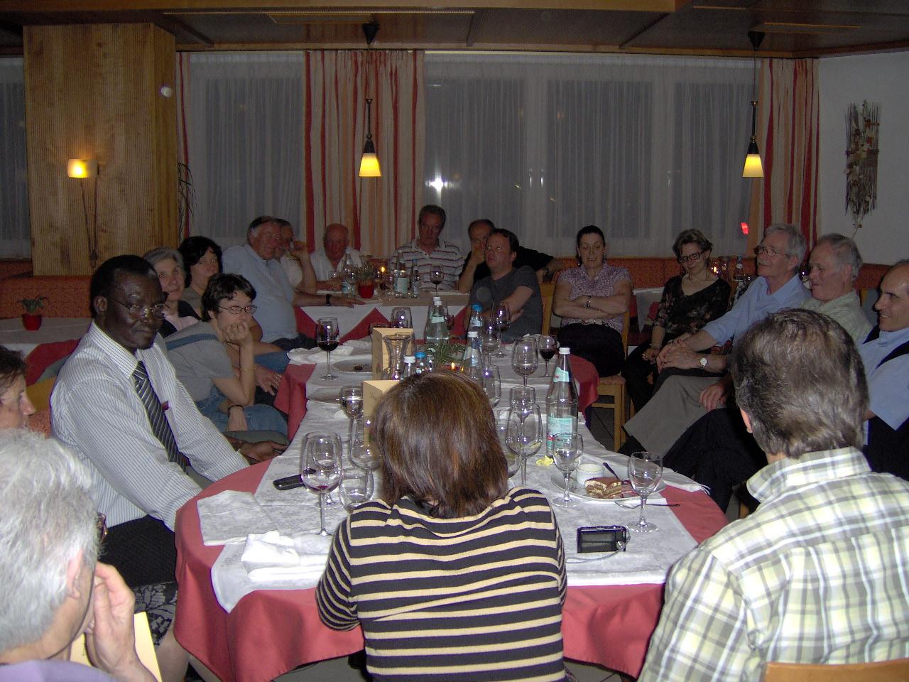 2009 Incontro con collaboratori