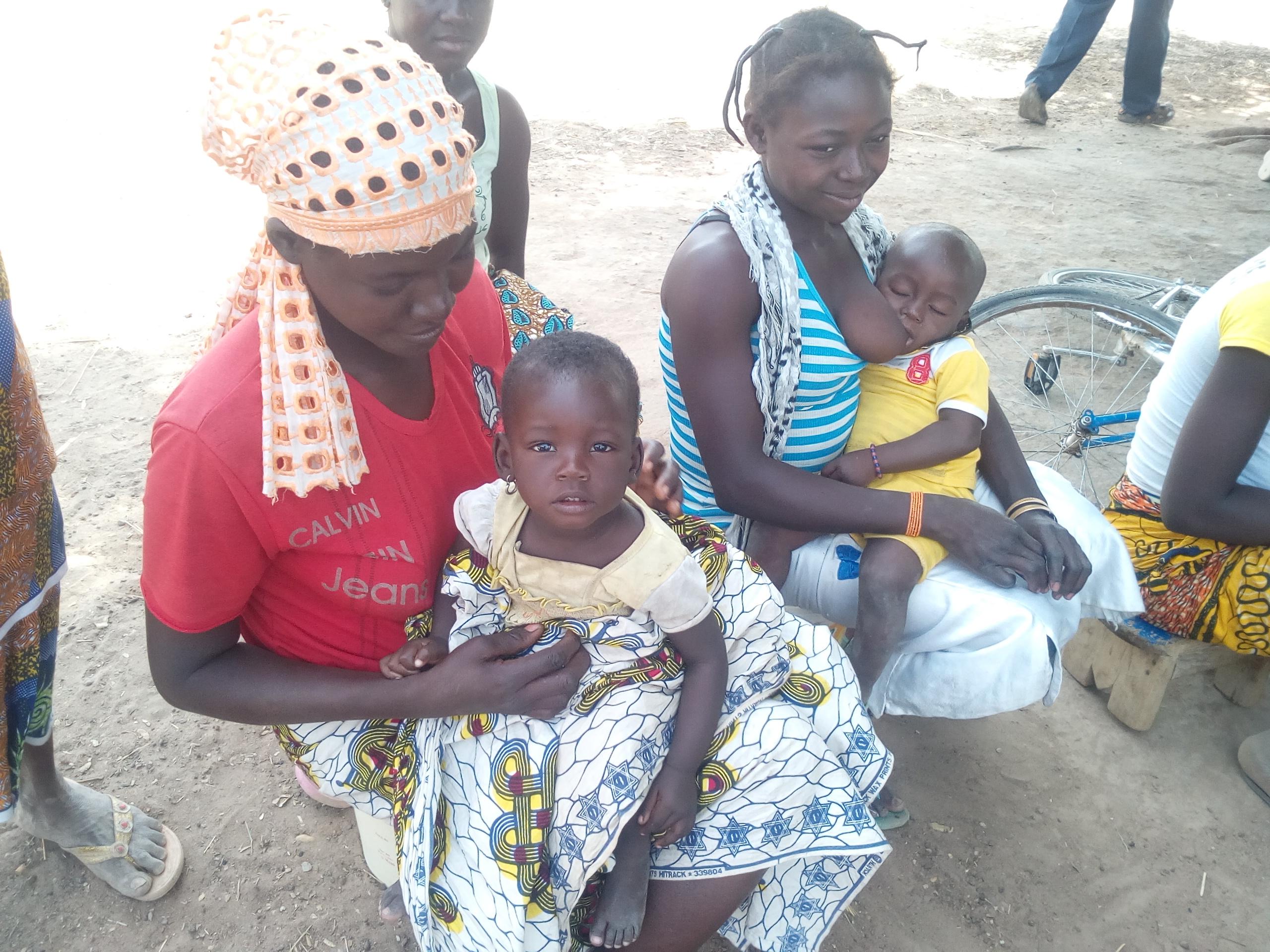 Donne in Burkina Faso