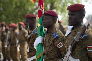 Militari del Burkina Faso