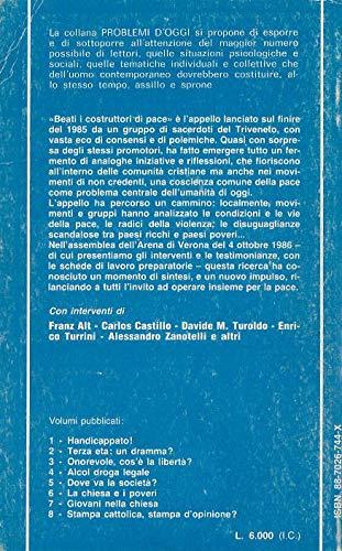 quarta di copertina Beati i costruttori di pace