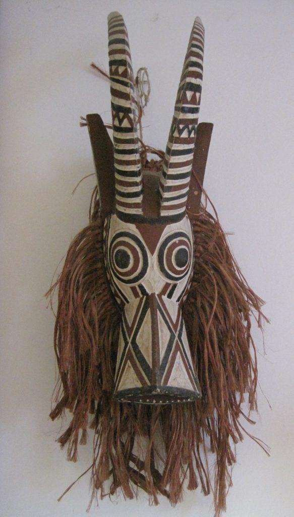 maschera Mossi antilope